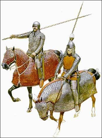 Parthian cataphracts