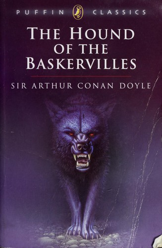 A more recent cover shows the vicious looking hound.