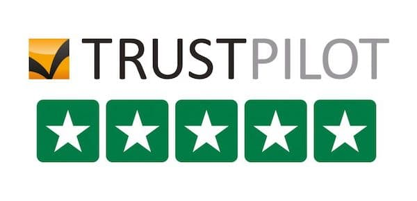 Excellent Trustpilot Reviews 5 stars