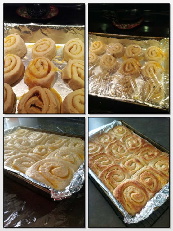Cut to Baked rolls