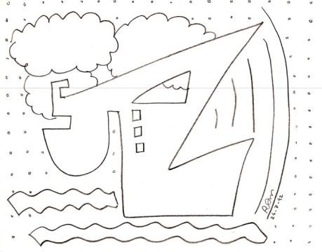 Drawing, 1992