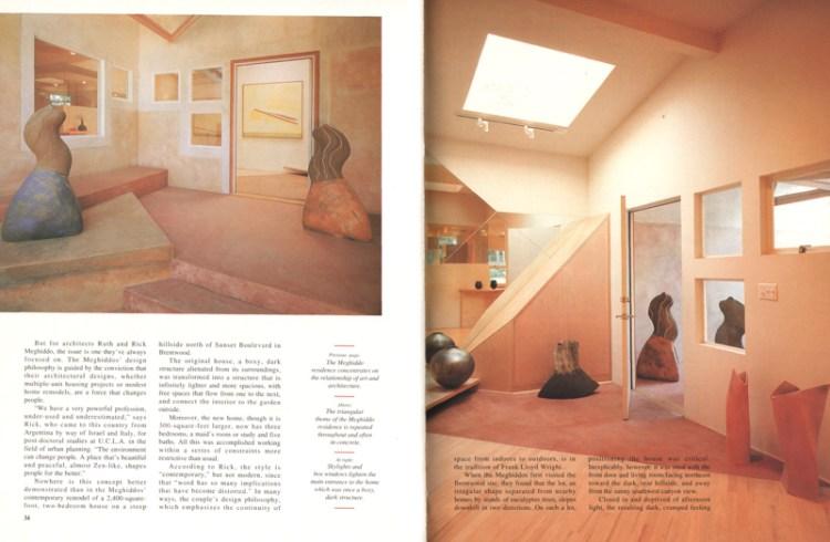 Rick Meghiddo, Ruth Meghiddo, Meghiddo Architects, www.architectureawareness.com , www.rick-RE.com , www.naturaltowergarden.com , California Homes, Brentwood, Bundy