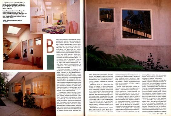 Rick Meghiddo, Ruth Meghiddo, Meghiddo Architects, www.architectureawareness.com , www.rick-RE.com , www.naturaltowergarden.com , Home and garden, Bundy, Brentwood, Los Angeles