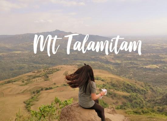 Mt. Talamitam: Day Hike On Its New Trail