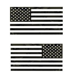 Multicam Black flag Decal Set
