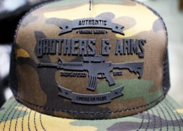 Brothers & Arms USA CAMO TRUCKER HAT