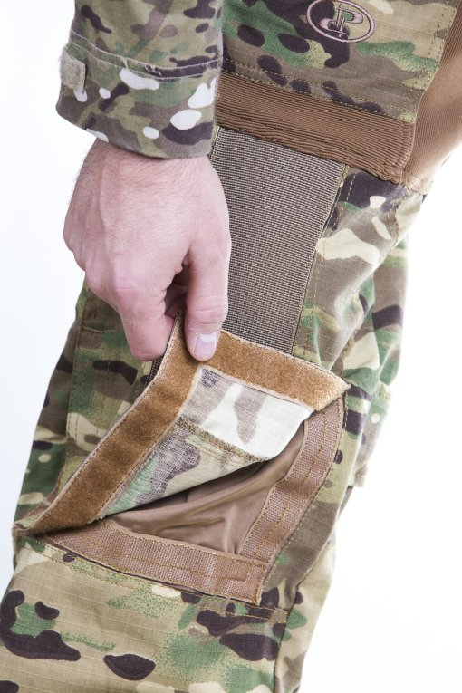 Disruptive Combat Pants Knee Pad compartment