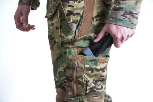 Disruptive Combat Pants Side Pockets