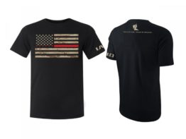 LALO Thin Red Line Tee