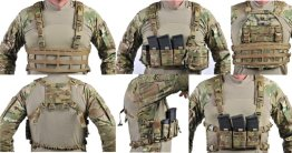 Raine Black Vector Chest Rig ALl Sides