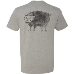 Black Sheep Warrior Logo T-shirt gray