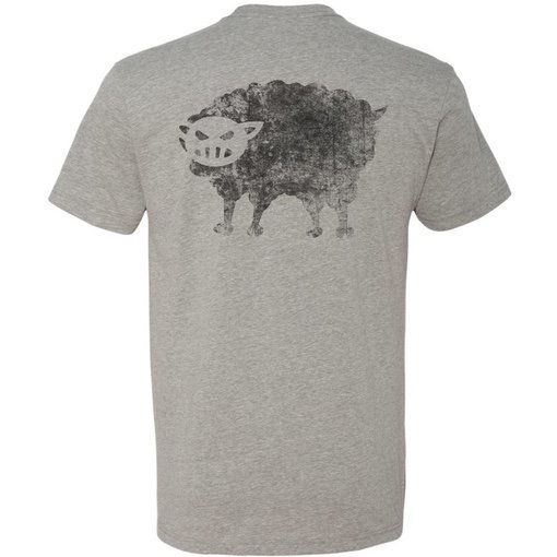 Black Sheep Warrior Logo T-shirt gray