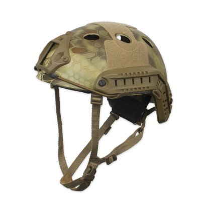 Chase Tactical Bump Helmet Kryptek Side