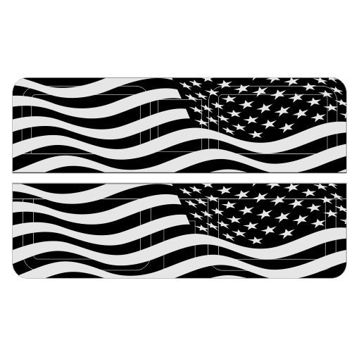 American Flag Ejection Port Cover