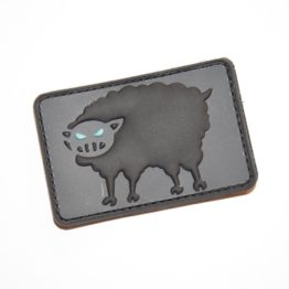 Black Sheep Warrior 3x2 Logo Patch