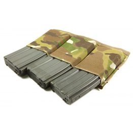 Blue Force Gear Ten-Speed Triple M4 Magazine Pouch Multicam