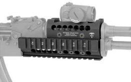 Universal AK47/74 Handguard - T1/VS Optic Specific Topcover Black