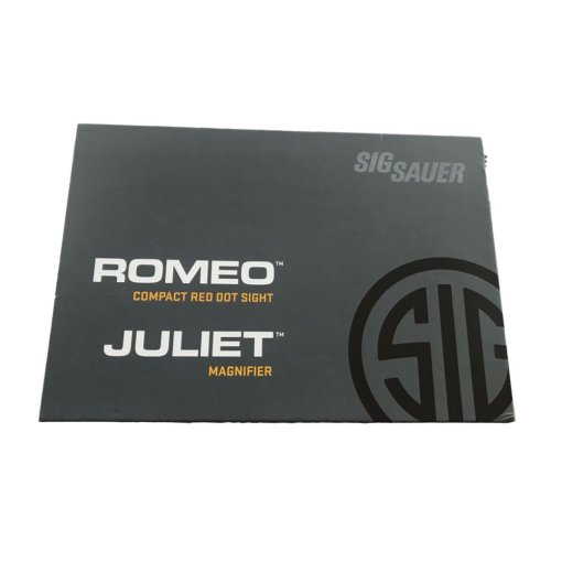 SigRomeo5 and Juliet3 Packaging