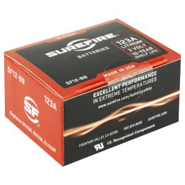 SureFire 123A Lithium Batteries – SF12BB (Box of 12)