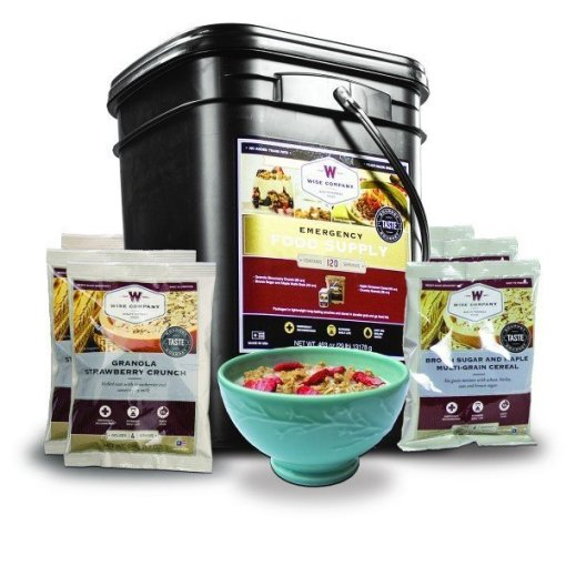 Wise Emergency Foods Lifestyle Breakfast Bucket