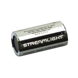 Streamlight 3V CR123 Lithium Batteries – 6-Pack