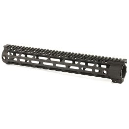 15 in Midwest Industries 308 SS Series One Piece Free Float DPMS M-LOK Handguard, .210 Upper Tang