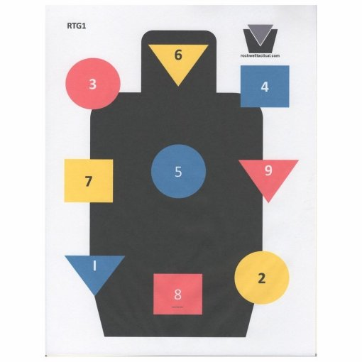 Rockwell Tactical Gorup Targets