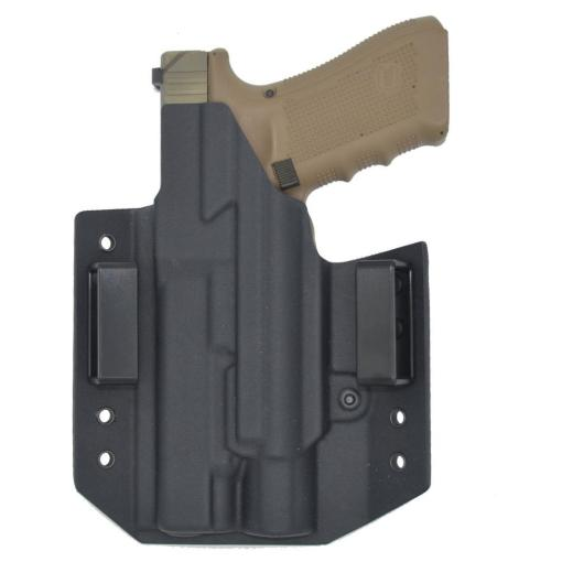 C&G Glock 34-17-19 X200-X300-XH35 OWB Tactical Kydex Holster - Quickship 3