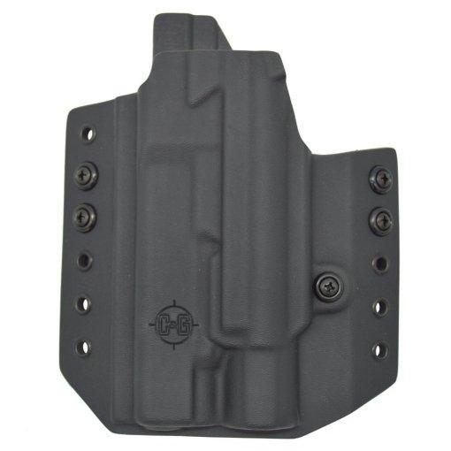 C&G Glock 34-17-19 X200-X300-XH35 OWB Tactical Kydex Holster - Quickship 4
