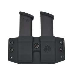 C&G OWB Covert Kydex Double FLAT Magazine Holder - Quickship 2