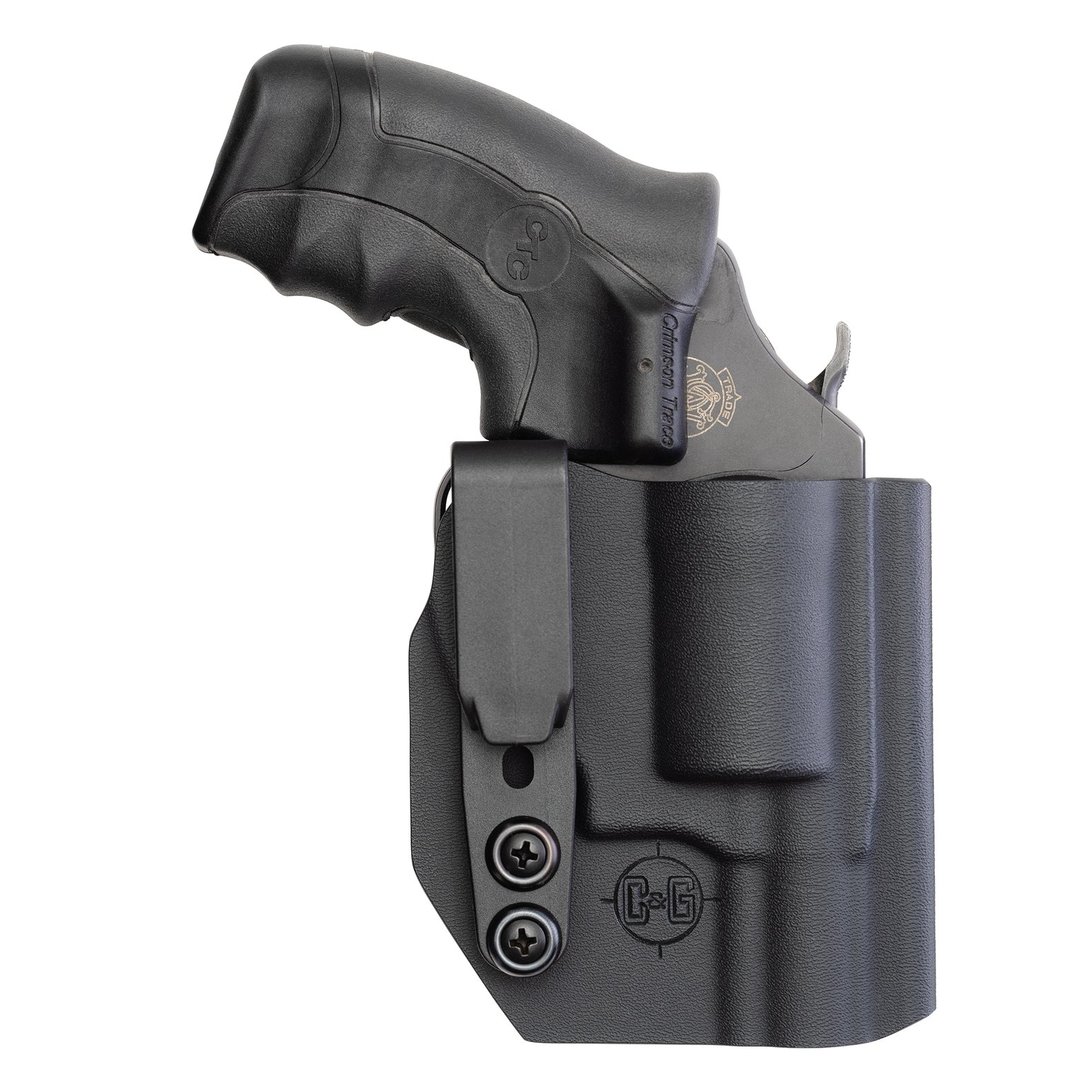 C&G Smith & Wesson 442-642-340 (J-Frame) IWB Covert Kydex Holster -  Quickship