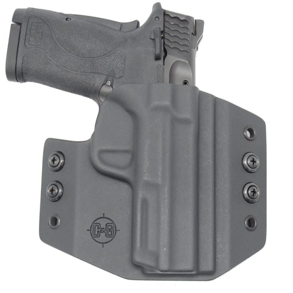 C&G Smith & Wesson M&P 380 Shield EZ OWB Covert Kydex Holster