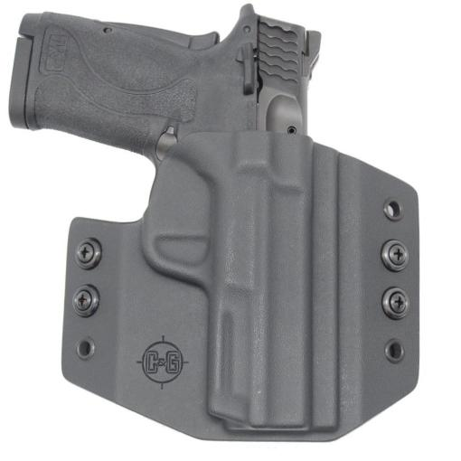 C&G Smith & Wesson M&P 380 Shield EZ OWB Covert Kydex Holster - Quickship 2