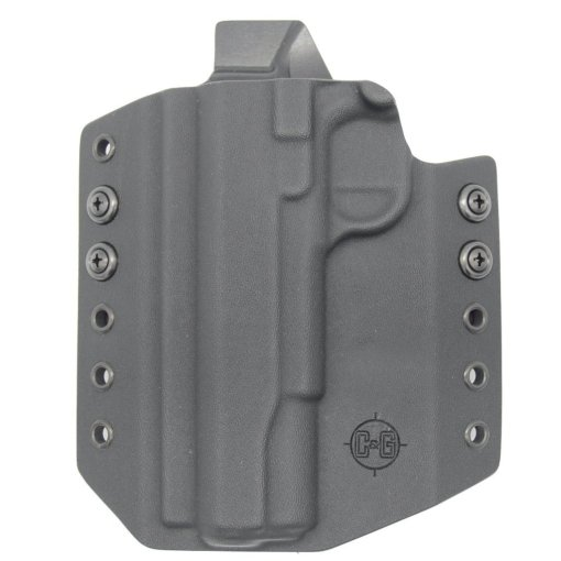 C&G Kimber 1911 5 OWB Covert Kydex Holster - Quickship 4