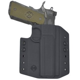 C&G Kimber 1911 5 Railed OWB Covert Kydex Holster - Quickship 2