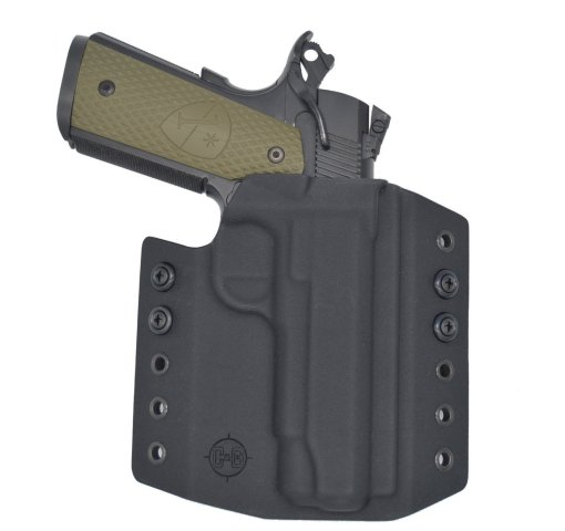 C&G Springfield Armory 1911 4.25 OWB Covert Kydex Holster - Quickship 1