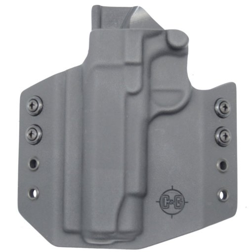 C&G Springfield Armory 1911 4.25 OWB Covert Kydex Holster - Quickship 3