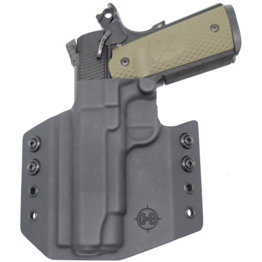 C&G Springfield Armory 1911 4.25 OWB Covert Kydex Holster - Quickship 5