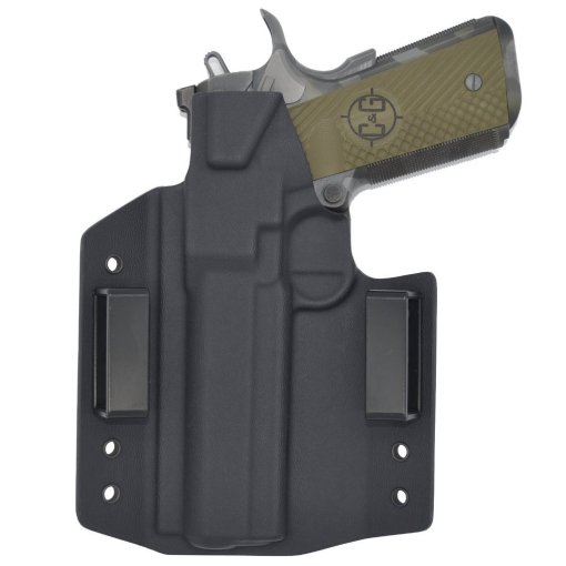 C&G Springfield Armory 1911 5 Railed OWB Covert Kydex Holster - Quickship 3