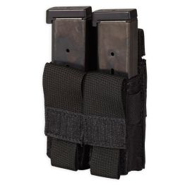 Chase Tactical Double Pistol Mag Pouch - Black