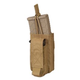 Chase Tactical Single Kangaroo 5.56 & Pistol Mag Pouch - Coyote