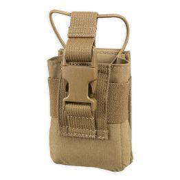 Chase Tactical Radio Pouch - Coyote