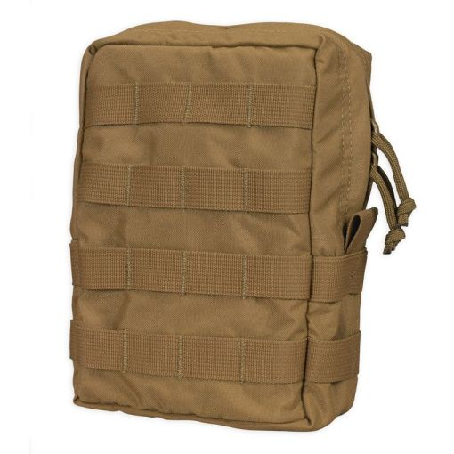 Chase Tactical Large Vertical General Purpose Utility Pouch - Coyote