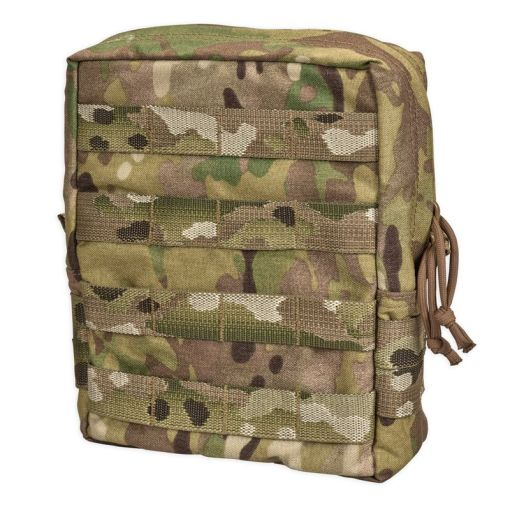 Chase Tactical Large Vertical General Purpose Utility Pouch - Multicam