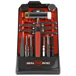Real Avid ACCU-PUNCH Hammer & Punch Set