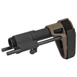 SB Tactical 3-Position PDW AR Pistol Brace Black FDE