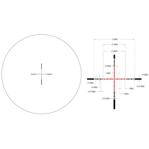 Trijicon-Credo-1x4-Red-MRAD-Reticle