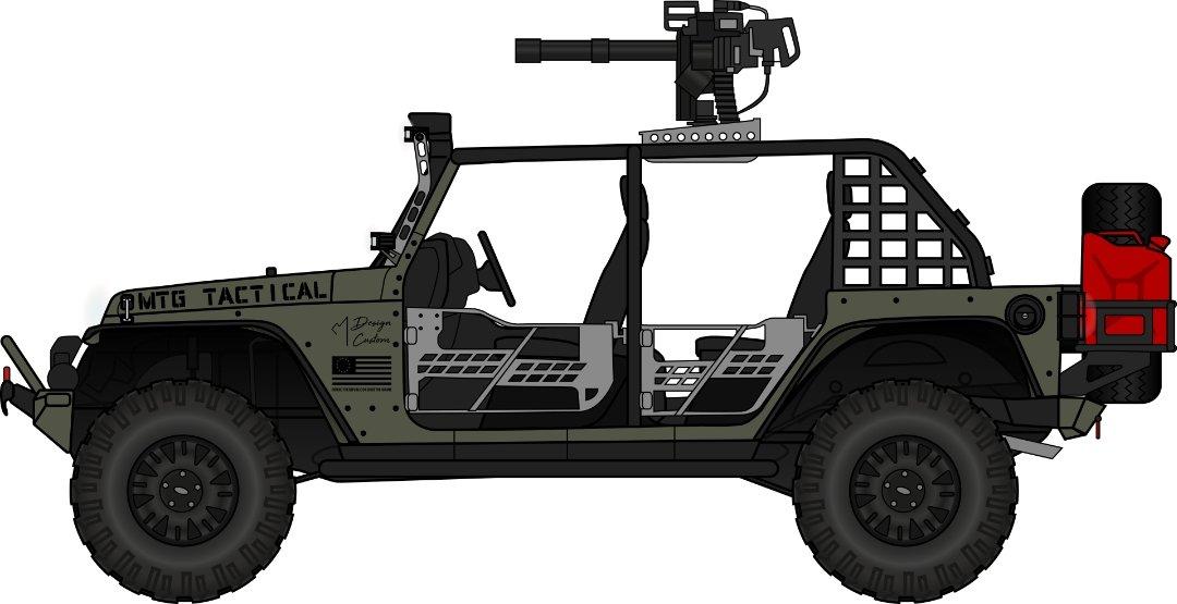 MTG Defend the Republic Jeep