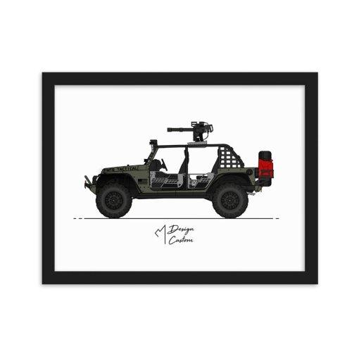 MTG DTR 12x16 Framed Print