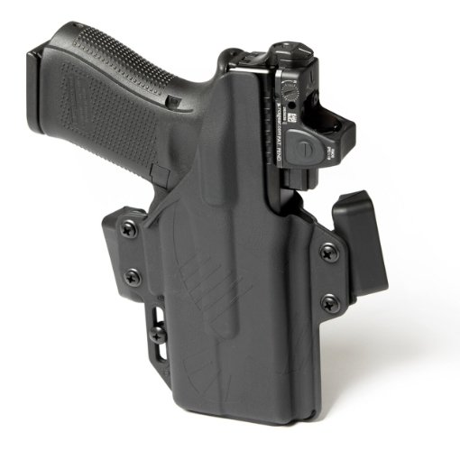 Raven Perun Glock 19X with Surefire XC1-A_B Holster